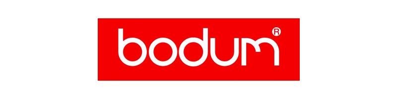 L'histoire de Bodum commence à Copenhague, Danemark en 1944. Peter Bodum impressionné par les cafetières italiennes importe de la verrerie et décide d'améliorer la conception. Aujourd'hui, en plus de ces cafetières à piston, Bodum propose en autre des théières et des verres double parois.