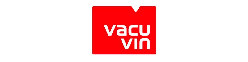 Vacu Vin a été créé aux Pays Bas en 1986 pour fabriquer et distribuer un appareil permettant de conserver les bouteilles de vins. Aujourd'hui elle distribue des pompes à vins, des bouchons, des tire bouchons et des rafraichisseurs de bouteilles.